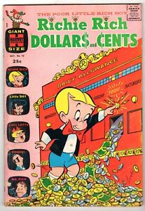Richie Rich Dollars and Cents #10, Fine Condition