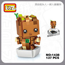 LOZ 1438 Guardians of the Galaxy Groot Tree Mini Building Diamond Nano Block Toy