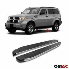 Side Steps Running Boards Aluminum Nerf Bars 2 Pcs. For Dodge Nitro 2007-2012