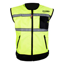 NEW MOTORCYCLE COMMUTER BIKE IT METRO SAFETY HI-VIS REFLECTIVE GILET VEST
