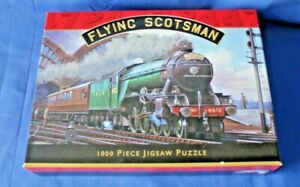 Flying Scotaman Steam Train   Jigsaw Puzzle - 1000 Pieces  from Otter House