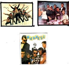 MADNESS x 3 sew on vintage photo patches BAND MEMBERS