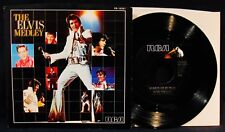 ELVIS PRESLEY-The Elvis Medley-Near Mint Picture Sleeve+45-RCA VICTOR #PB-13351