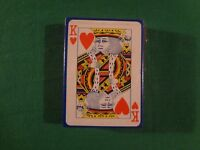 VINTAGE PLASTIC COATED PLAYING CARD DECK