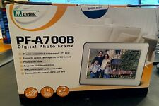 "Mustek PF-A700B 7"" Digital Picture Frame, Unopened Box"