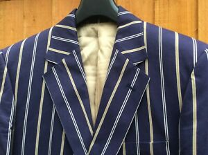 """AQUASCUTUM Made in England Boating Blazer 