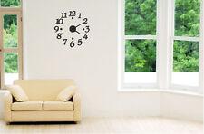 Modern Design Home Decor 3D DIY Day Time Wall Digit Number Room Decoration Clock