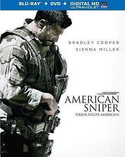 American Sniper (Blu-ray/DVD, 2-Disc Set, Canadian)