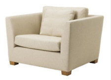 IKEA Stockholm 1.5 Armchair SLIPCOVER Gammelbo Beige IKEA Stockholm 901.095.43