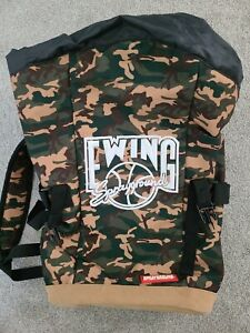 Sprayground Ewing Camo Toploader Backpack (No tags, but never used)