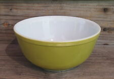 Vintage Pyrex OLIVE GREEN Nesting Mixing Bowl #403 2.5 QT MADE IN USA