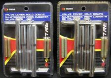 **LOT OF 2** SPECTRE 5298 CHROME T BAR VALVE COVER HOLD DOWNS SBC CHEVY 1/4-20