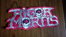 RIGOR MORTIS,SEW ON EMBROIDERED LARGE BACK PATCH