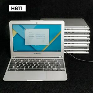 """LOT OF 9 SAMSUNG CHROMEBOOK XE303C12 11.6"""" EXYNOS 5 2GB 16GB CHROME OS H811"""