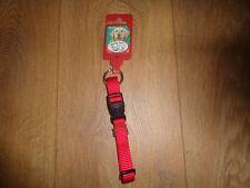 "Kerbl Maxi Pet Red Adjustable Dog Collar Size 12-18""/30-45cm"
