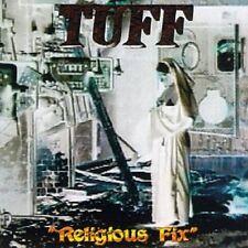 "TUFF ""Religious Fix"" signed CD 'Fist First' Stevie Rachelle Skid Row Motley Crue"