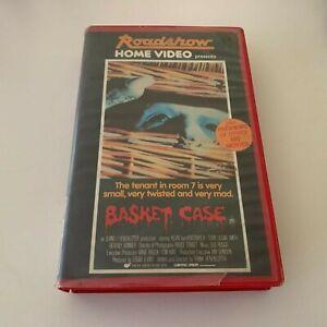 Basket Case and Basket Case 2 VHS Tapes