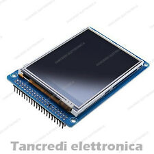 Display LCD TFT 3,2' 3,2'' 240X320 a colori con touch screen Arduino mega 2560