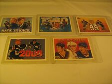 Lot of 5 HOCKEY Cards WAYNE GRETZKY UPPER DECK 1990's [b5b2]