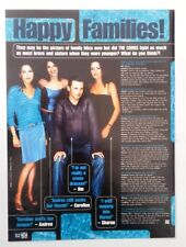 The CORRS 'happy families' magazine PHOTO/Poster/clipping 11x8 inches