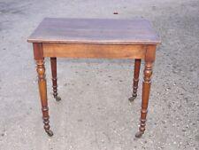 JOLIE PETITE TABLE BUREAU A ECRIRE EN NOYER STYLE LOUIS PHILIPPE XIXe UN TIROIR
