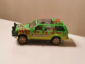 Matchbox 1993 Ford Explorer Jurassic Park