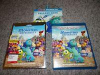 Monsters University (2 Blu-Ray,2 DVD Slipcover Collector's Edition) Disney Pixar