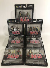 The Walking Dead Minimates Series 2 And 4 Rick Michonne Lori Zombie More 7 Sets