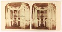 Versailles Cappella Francia Foto Stereo PL56L1n Vintage Albumina c1860