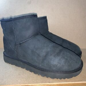 UGG Classic Mini Black Boot UK Size 8