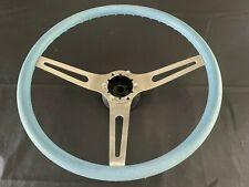 1969 1970 Chevrolet Chevelle Comfort Grip Blue Steering Wheel