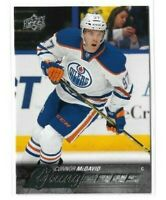 2015-16 UPPER DECK #201 CONNOR MCDAVID YG RC UD YOUNG GUNS ROOKIE OILERS