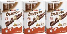 FERRERO Germany - 3 x Kinder Bueno - 3 boxes with 18 pcs - SHIPPING FREE