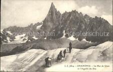 11843293 Chamonix Mer de Glace Aiguille du Dru Eismeer Gletscher Chamonix-Mont-B