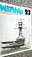 PROFILE WARSHIP #23: HMS FURIOUS: AIRCRAFT CARRIER 1917-1948: THE FIRST 8 YEARS