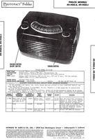 PHILCO 49-900-E, I, 1 Radio Receiver Service Manual, 1948 Photofact w-Schematic
