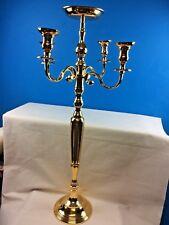 Handmade Traditional Candelabra 5Arm  Centercup Gold Wedding 47x47x107cmNewLarge