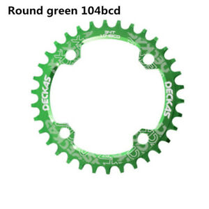 104BCD Round Narrow Wide Single Speed Chainring MTB BMX Mountain bike bicycle
