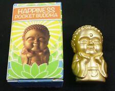 "POCKET BUDDHA FIGURINE ""HAPPINESS"" (GOLD) BUDDHA"