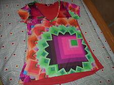 Tee shirt desigual multicolor taille M
