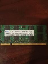 Original 1GB 2GB PC3 PC2 DDR2 DDR3 computadora portátil 8500S 6400 10600 1Rx8 2Rx8 Memoria Ram