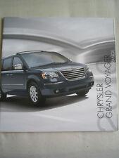Chrysler Grand Voyager range brochure Jun 2010 UK market