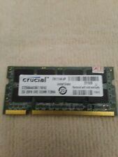 New listing Crucial 2Gb 200pin Pc2-Sodimm Ddr2-512Mx64