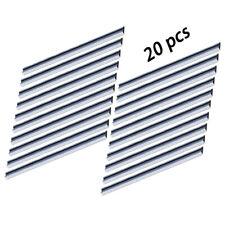 """20PC TCT Cepilladora Cuchillo 3-1/4"""" Para Bosch PHO2-82 PHO100 150 200 PHO3-82B PH300"""
