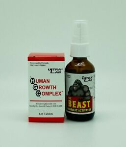 The Beast Anabolic Activator by Ultra Lab Double Stacked with HGC