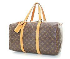 Authentic LOUIS VUITTON Sac Souple 45 Monogram Tote Duffle Bag #35138
