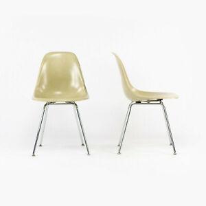 Eames Modernica Case Study Oatmeal Fiberglass Side Shell Chair with H-Base 16x