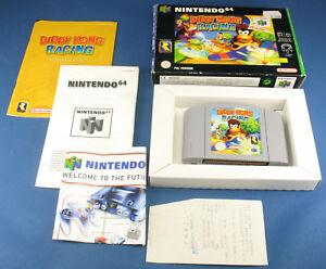 Nintendo 64 - DIDDY KONG RACING + OVP + Anleitung - PAL - deutsch - N64