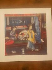 Ann and Sasha Shulgin Signed - Thom Lyttle Opium Den Vintage Blotter Art - WOW!!