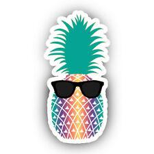 Sunglasses Summer Pineapple Vibes Vinyl Decal Decor Wall Bumper Laptop Sticker